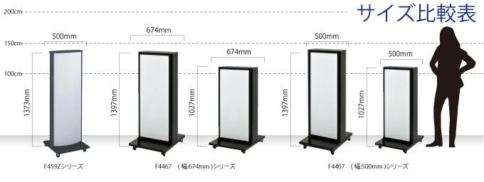 電飾スタンド比較表