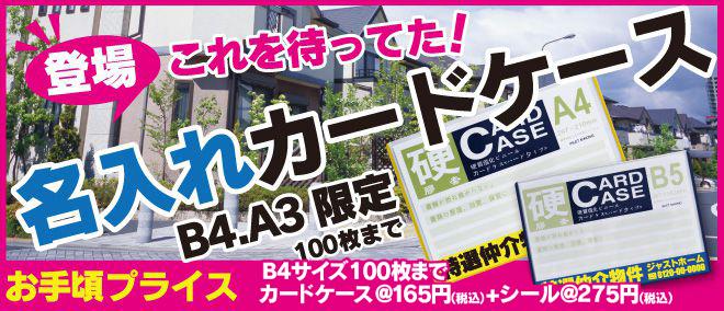 カードケース - 名入れカードケース(硬質)