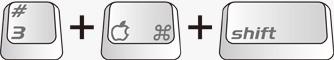 MacのPrintScreen