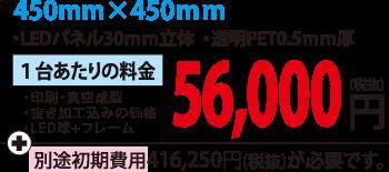 450サイズ料金